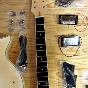 Fabriquer sa guitare - on récapitule